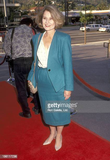 Actress Diane Baker attends the Screening of the Newly Restored Version of 'Spartacus' on April 25 1991 at DGA Theatre in West Hollywood California