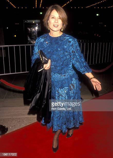Actress Diane Baker attends 'The Silence of the Lambs' Century City Premiere on February 1 1991 at Cineplex Odeon Century Plaza Cinemas in Century...