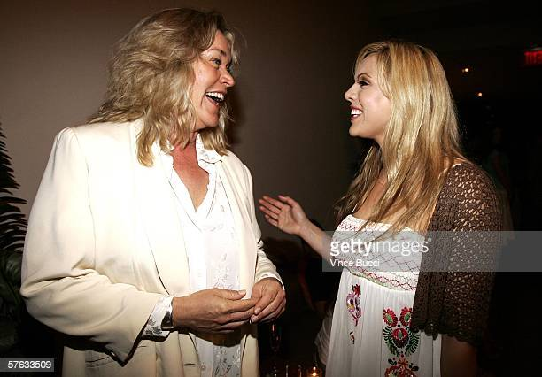 Actress Diane Delano and executive producer Laura Nativo attend the after party for Los Angeles premiere of the comedy film Surf School on May 16...