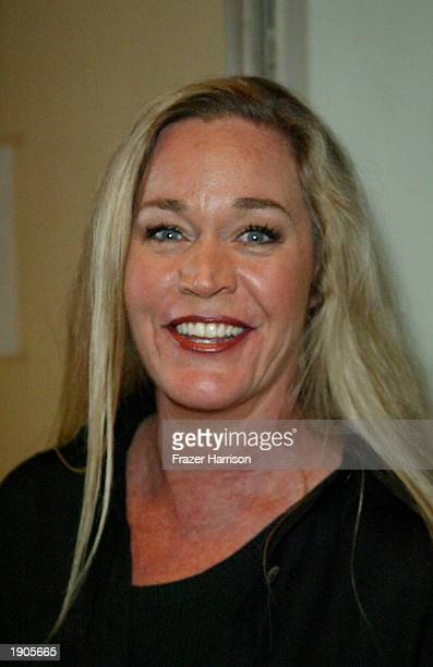 Actress Diane Delano arrives at the weSparkle Variety Night Cancer charity event held at the El Portal Theatre April 7 2003 in Hollywood