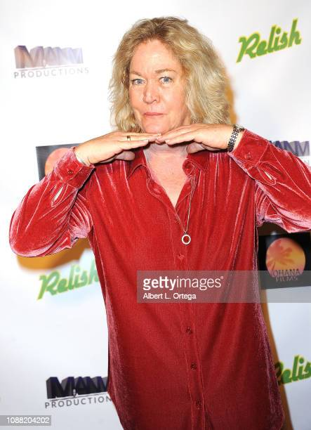 Actress Diane Delano arrives for the Screening Of Relish held at Pacific Theatres at The Grove on January 24 2019 in Los Angeles California