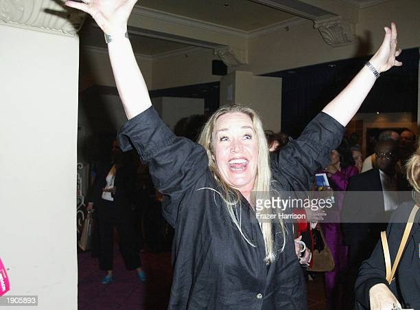 Actress Diane Delano attends the after party of the weSPARKLE Variety Night Take II Cancer event at the El Portal Theatre April 7 2003 in north...