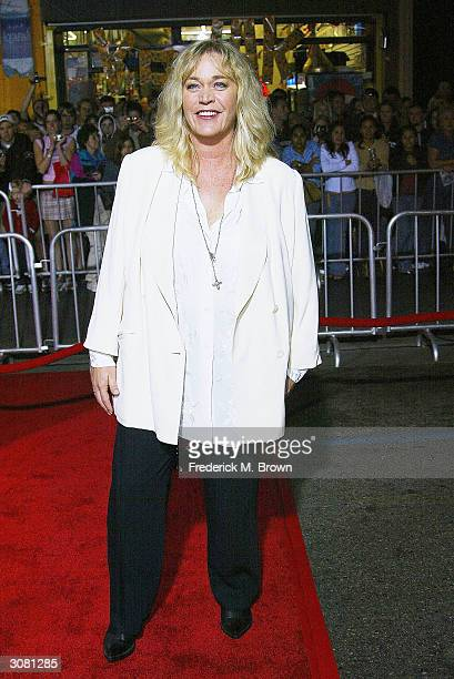 Actress Diane Delano attends the film premiere of The Lady Killers at the El Capitan Theatre on March 12 2004 in Hollywood California The film opens...