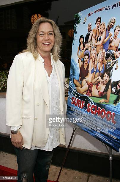 Actress Diane Delano attends the Los Angeles premiere of the comedy film Surf School on May 16 2006 at the Crest Theatre in Westwood California