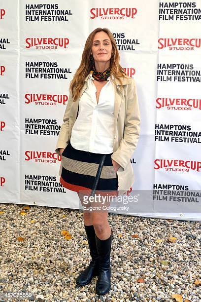 Actress Diane Farr attends the Chairmans Reception during the 2014 Hamptons International Film Festival on October 11 2014 in East Hampton New York