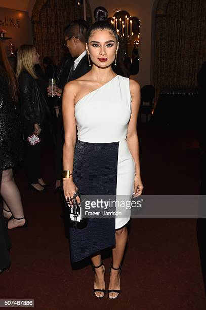 Actress Diane Guerrero attends Entertainment Weekly Celebration Honoring The Screen Actors Guild Awards Nominees presented by Maybelline at Chateau...