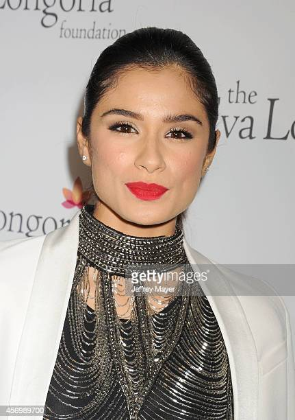 Actress Diane Guerrero attends Eva Longoria's Foundation dinner at Beso on October 9 2014 in Hollywood California
