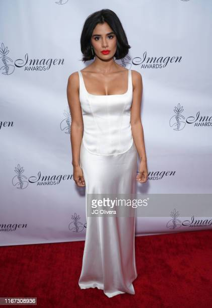 Actress Diane Guerrero attends the 34th Annual Imagen Awards at the Beverly Wilshire Four Seasons Hotel on August 10 2019 in Beverly Hills California