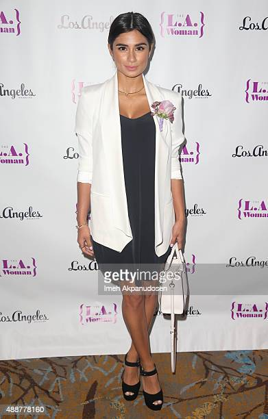 Actress Diane Guerrero attends the 5th Annual LA Woman Luncheon at Sofitel Hotel on September 17 2015 in Los Angeles California