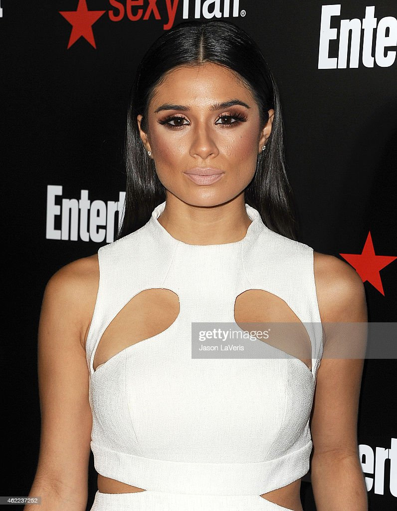 Actress Diane Guerrero attends the Entertainment Weekly celebration honoring nominees for the Screen Actors Guild Awards at Chateau Marmont on January 24, 2015 in Los Angeles, California.