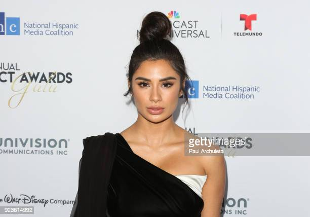 Actress Diane Guerrero attends the National Hispanic Media Coalition's 21st annual Impact Awards at the Beverly Wilshire Four Seasons Hotel on...