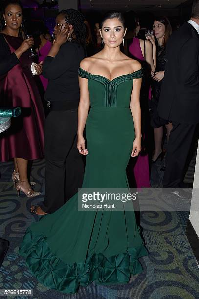 Actress Diane Guerrero attends the Yahoo News/ABC News White House Correspondents' Dinner PreParty at Washington Hilton on April 30 2016 in...