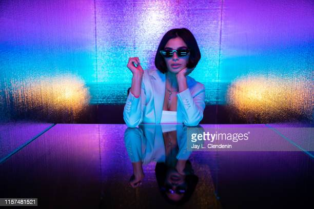 Actress Diane Guerrero from 'Doom Patrol' are photographed for Los Angeles Times at ComicCon International on July 20 2019 in San Diego California...