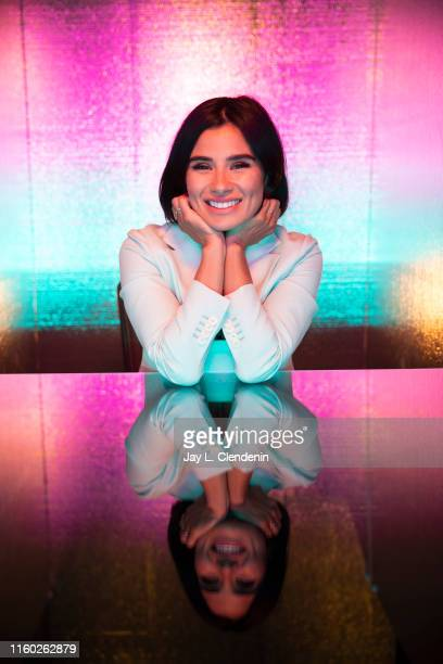 Actress Diane Guerrero of 'Doom Patrol' are photographed for Los Angeles Times at ComicCon International on July 20 2019 in San Diego California...