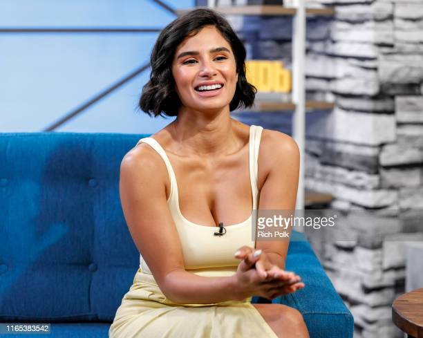 Actress Diane Guerrero visits 'The IMDb Show' on July 10 2019 in Studio City California This episode of 'The IMDb Show' airs on August 1 2019