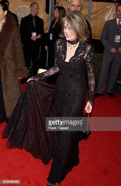 Actress Diane Keaton arrives at the 10th Annual Screen Actors Guild Awards