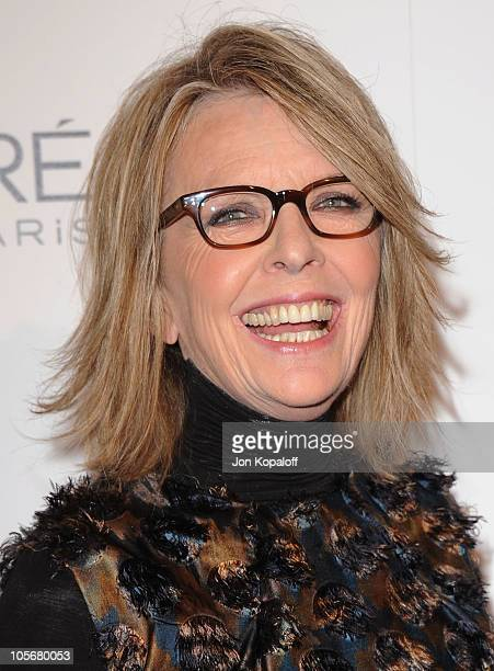 Actress Diane Keaton arrives at the 17th Annual ELLE Women In Hollywood Celebration at The Four Seasons Hotel on October 18 2010 in Beverly Hills...