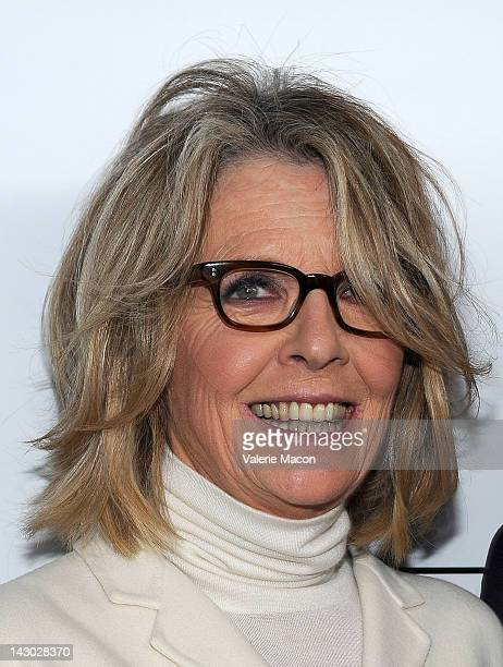 Actress Diane Keaton arrives at the Premiere Of Sony Pictures Classics' Darling Companion at the Egyptian Theatre on April 17 2012 in Hollywood...
