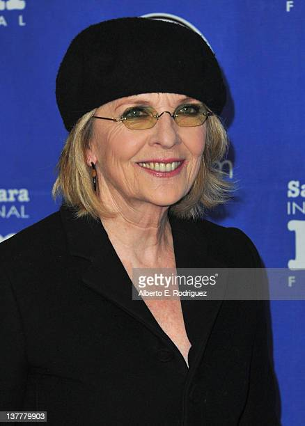 Actress Diane Keaton arrives to the Santa Barbara International Film Festival's opening night premiere of Sony Pictures Classics' Darling Companion...