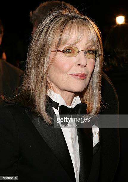 Actress Diane Keaton arrives to the world premiere of Twentieth Century Fox's film The Family Stone at the Mann Village Theater December 6 2005 in...