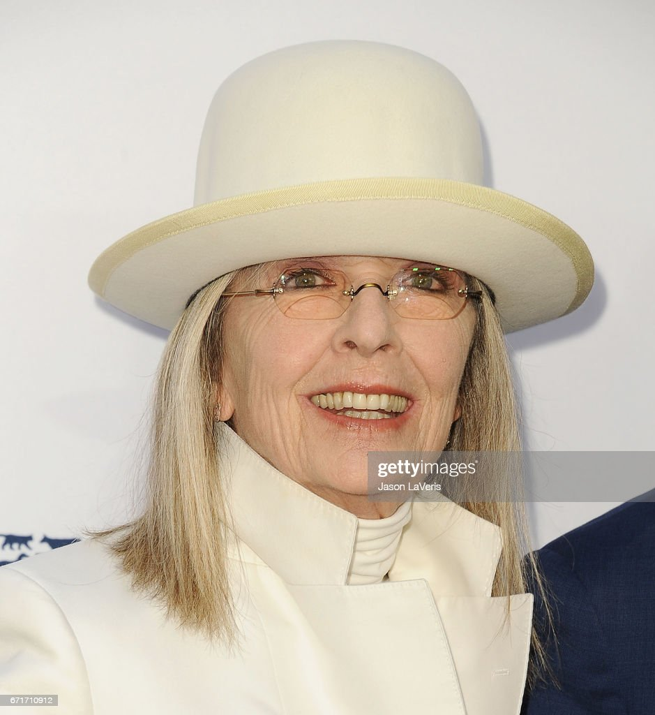 Actress Diane Keaton attends Humane Society of The United States' annual To The Rescue! Los Angeles benefit at Paramount Studios on April 22, 2017 in Hollywood, California.