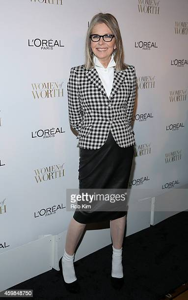 Actress Diane Keaton attends L'Oreal Paris' Ninth Annual Women Of Worth Celebration at The Pierre Hotel on December 2 2014 in New York City