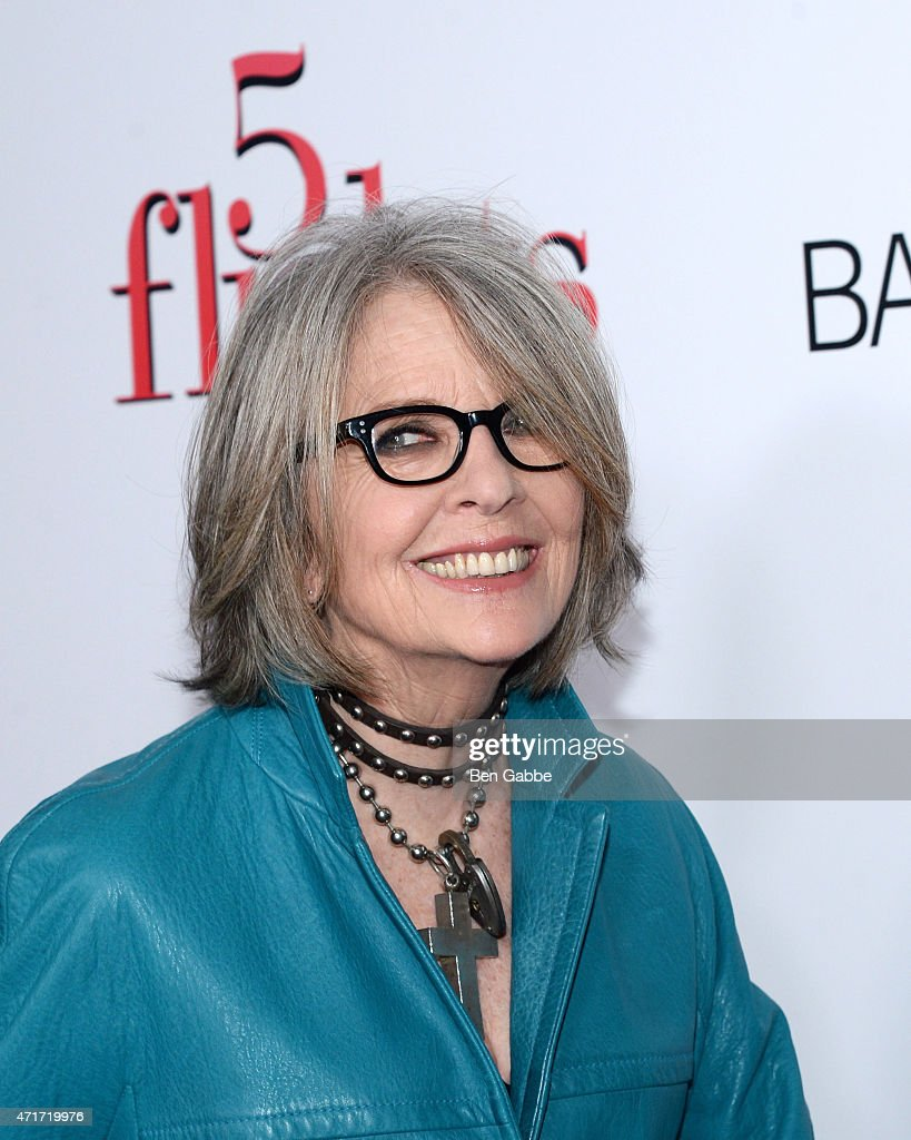 Actress Diane Keaton attends the '5 Flights Up' New York premiere at BAM Rose Cinemas on April 30, 2015 in New York City.