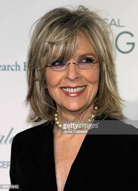 Actress Diane Keaton attends the L'Oreal Legends Gala to Benefit The Ovarian Cancer Research Fund at American Museum of Natural History on November...