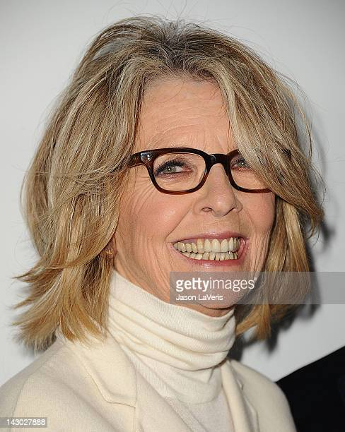 Actress Diane Keaton attends the Los Angeles premiere of Darling Companion at American Cinematheque's Egyptian Theatre on April 17 2012 in Hollywood...