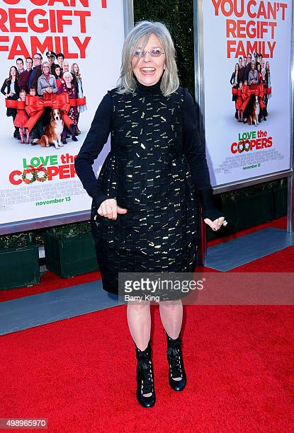 Actress Diane Keaton attends the Premiere Of CBS Films' 'Love The Coopers' at the Grove Park Plaza on November 12 2015 in Los Angeles California