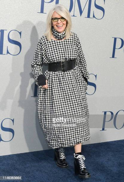 Actress Diane Keaton attends the premiere of STX's Poms at Regal LA Live on May 01 2019 in Los Angeles California