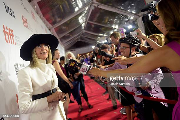 Actress Diane Keaton attends the Ruth Alex premiere during the 2014 Toronto International Film Festival at Roy Thomson Hall on September 5 2014 in...