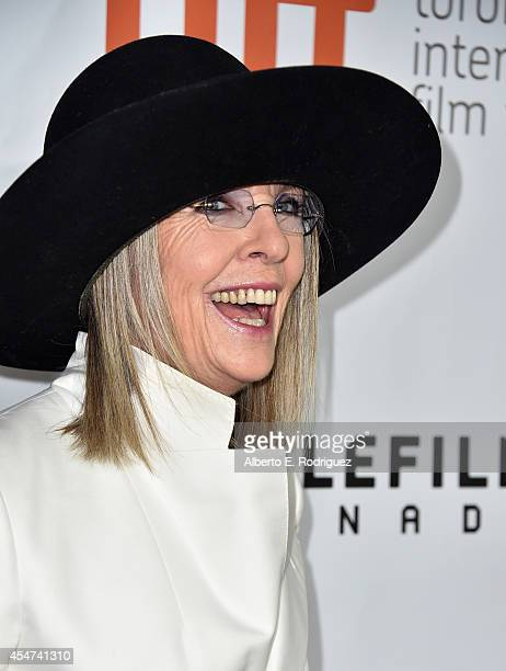 Actress Diane Keaton attends the 'Ruth Alex' premiere during the 2014 Toronto International Film Festival at Roy Thomson Hall on September 5 2014 in...