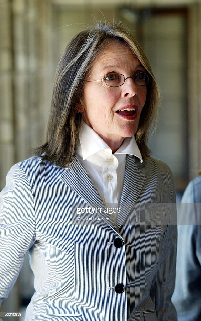 Diane Keaton And The National Trust Press Conference : News Photo