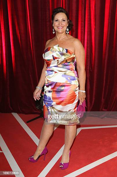 Actress Diane Keen attends the British Soap Awards at Media City on May 18 2013 in Manchester England