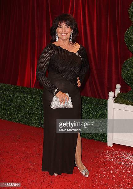 Actress Diane Keen attends the British Soap Awards at The London Television Centre on April 28 2012 in London England