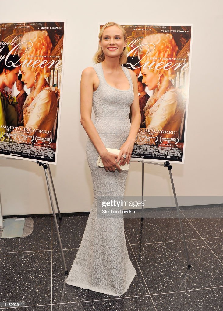 Actress Diane Kriger attends the 'Farewell, My Queen' New York Screening at MOMA on July 9, 2012 in New York City.
