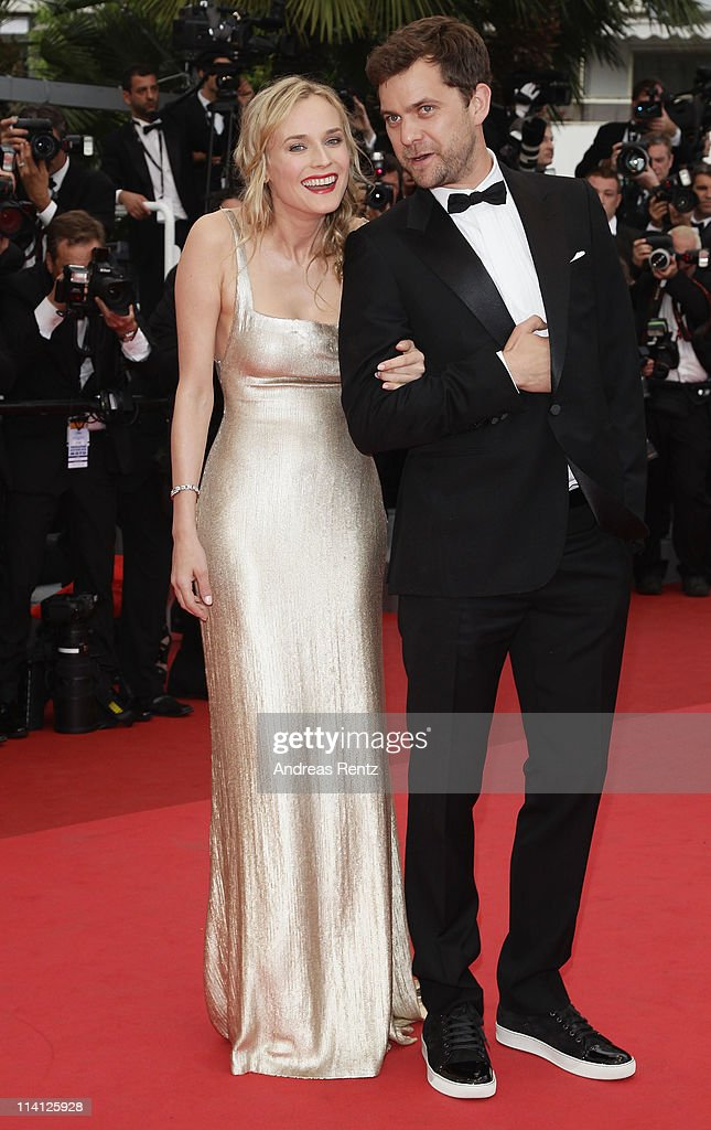Actress Diane Kruger and actor Joshua Jackson arrive at the 'Sleeping Beauty' premiere during the 64th Annual Cannes Film Festival at the Palais des Festivals on May 12, 2011 in Cannes, France.