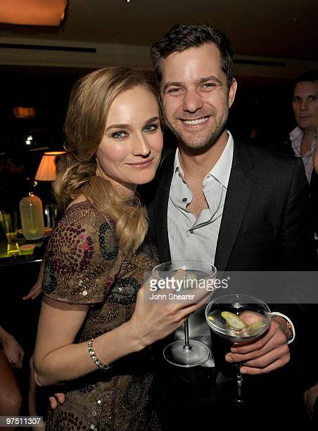 Actress Diane Kruger and actor Joshua Jackson attend the Montblanc Charity Cocktail hosted by The Weinstein Company to benefit UNICEF held at Soho...