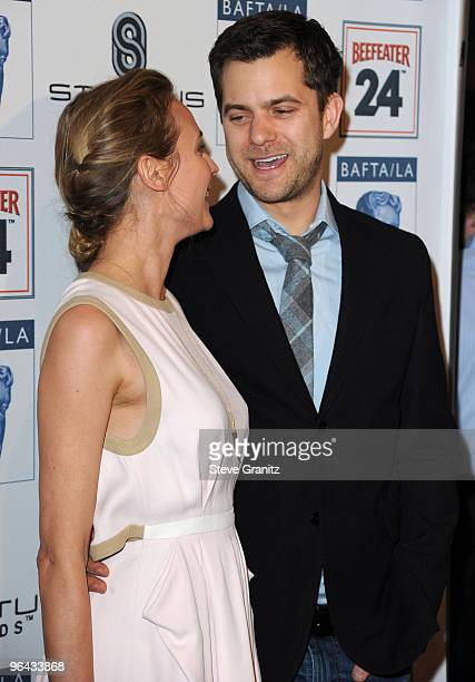 Actress Diane Kruger and actor Joshua Jackson attends the BAFTA/LA's 16th Annual Awards Season Tea Party at Beverly Hills Hotel on January 16 2010 in...