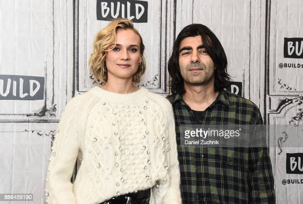 Actress Diane Kruger and director Fatih Akin attend the Build Series to discuss the new film 'In the Fade' at Build Studio on December 5 2017 in New...