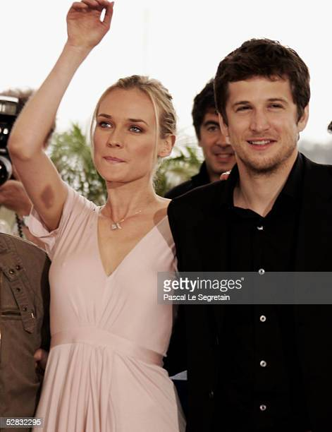 Actress Diane Kruger And Guillaume Canet Attend A Photocall Promoting The Film Joyeux Noel