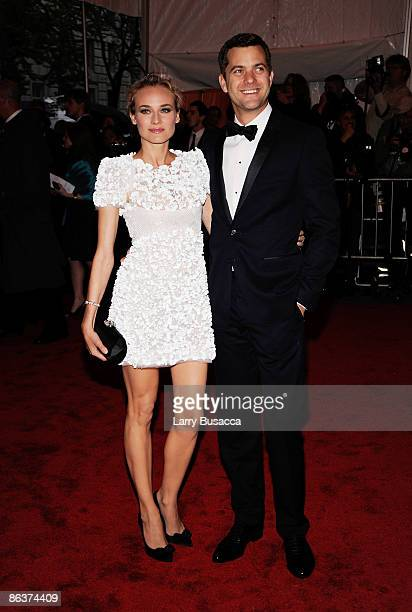 Actress Diane Kruger and Joshua Jackson attend The Model as Muse Embodying Fashion Costume Institute Gala at The Metropolitan Museum of Art on May 4...