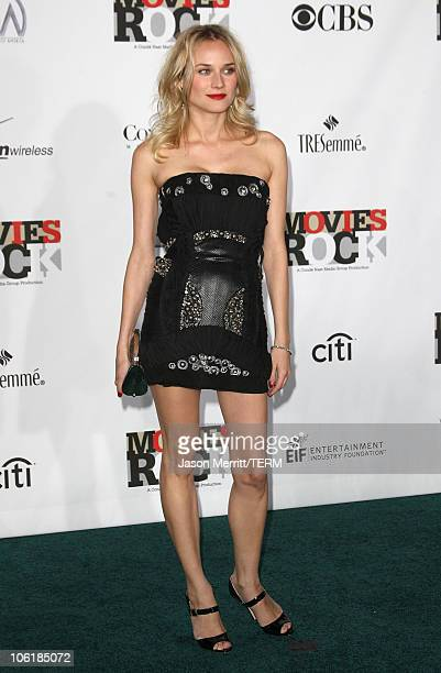 Actress Diane Kruger arrives at Conde Nast Media Group's 2007 Movies Rock at the Kodak Theatre on December 2 2007 in Hollywood California