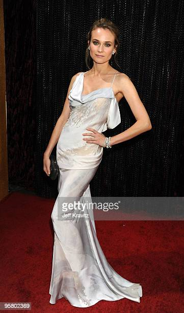 Actress Diane Kruger arrives at the 15th Annual Critics' Choice Movie Awards held at the Hollywood Palladium on January 15, 2010 in Hollywood,...
