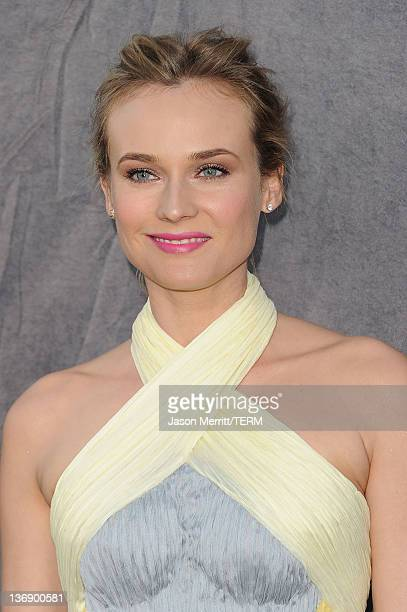 Actress Diane Kruger arrives at the 17th Annual Critics' Choice Movie Awards held at The Hollywood Palladium on January 12 2012 in Los Angeles...