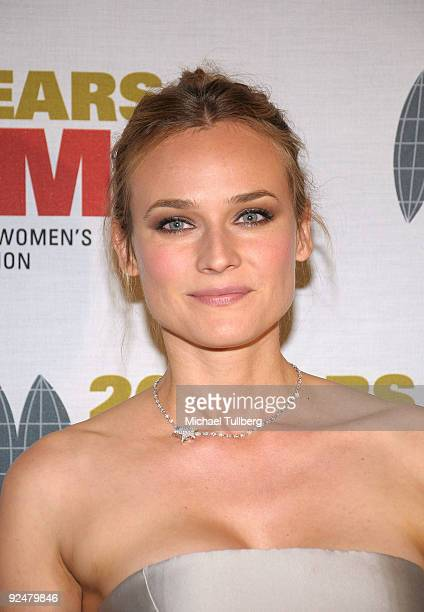 Actress Diane Kruger arrives at the 2009 International Women's Media Foundation's 'Courage In Journalism' Awards held at the Beverly Hills Hotel on...