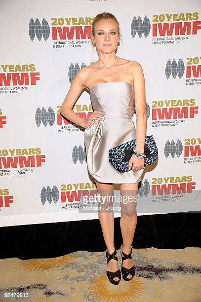 Actress Diane Kruger arrives at the 2009 International Womens Media Foundation's 'Courage In Journalism' Awards held at the Beverly Hills Hotel on...