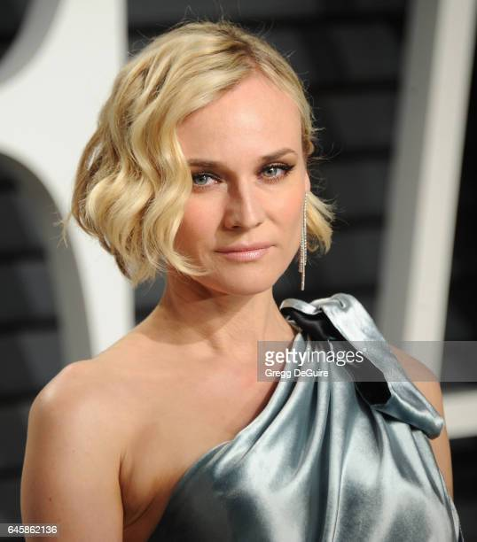 Actress Diane Kruger arrives at the 2017 Vanity Fair Oscar Party Hosted By Graydon Carter at Wallis Annenberg Center for the Performing Arts on...