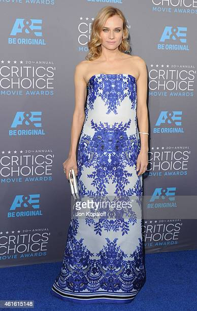 Actress Diane Kruger arrives at the 20th Annual Critics' Choice Movie Awards at Hollywood Palladium on January 15 2015 in Los Angeles California